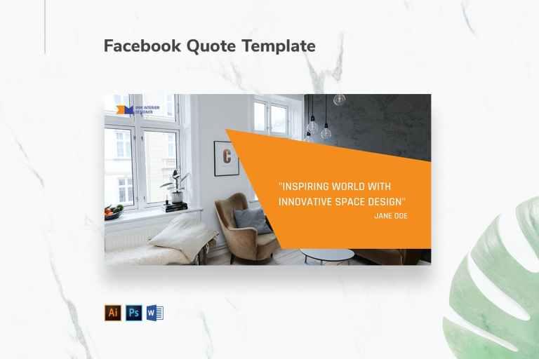 Interior Designer Firm Facebook Quote