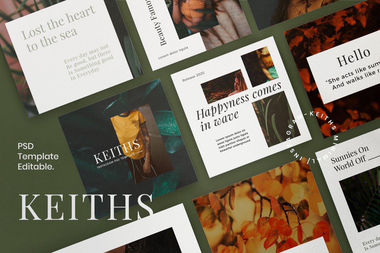 KEITHS - Insta Story & Post Social Media Vol.1