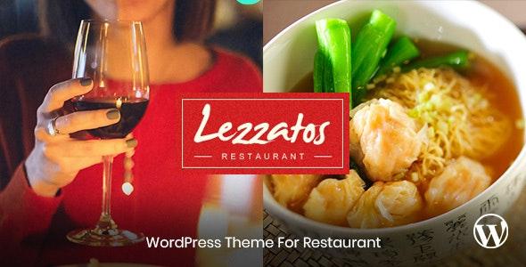 Lezzatos - Restaurant Wordpress Theme