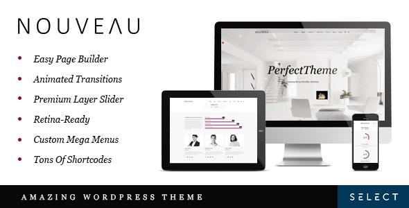 Nouveau v4.0.4 - Multipurpose WordPress Theme