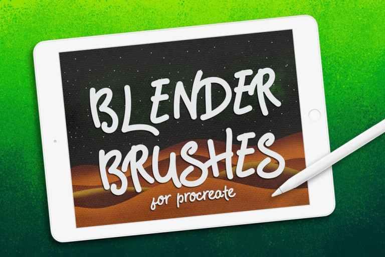 Procreate: Blender Brushes