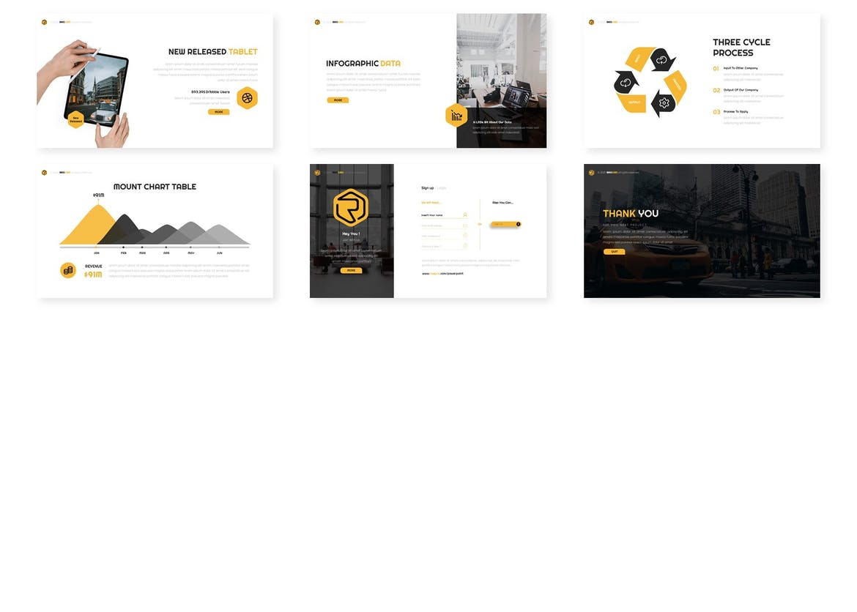 Rasgriz - Multipurpose Google Slides Template