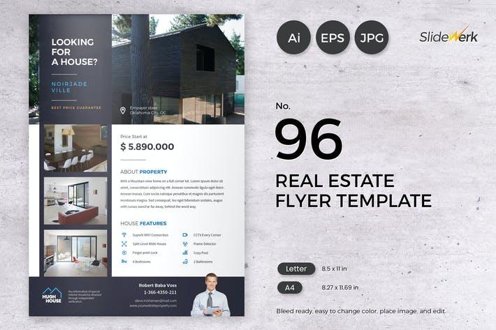 Real Estate Flyer Template 96 - Slidewerk