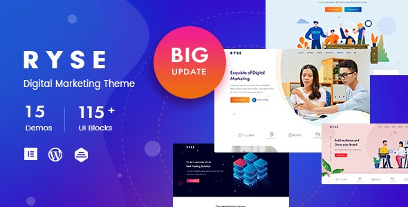 Ryse v1.4.2 - WP SEO & Digital Marketing Theme