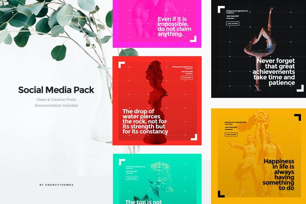 Social Media Banners - Vol111