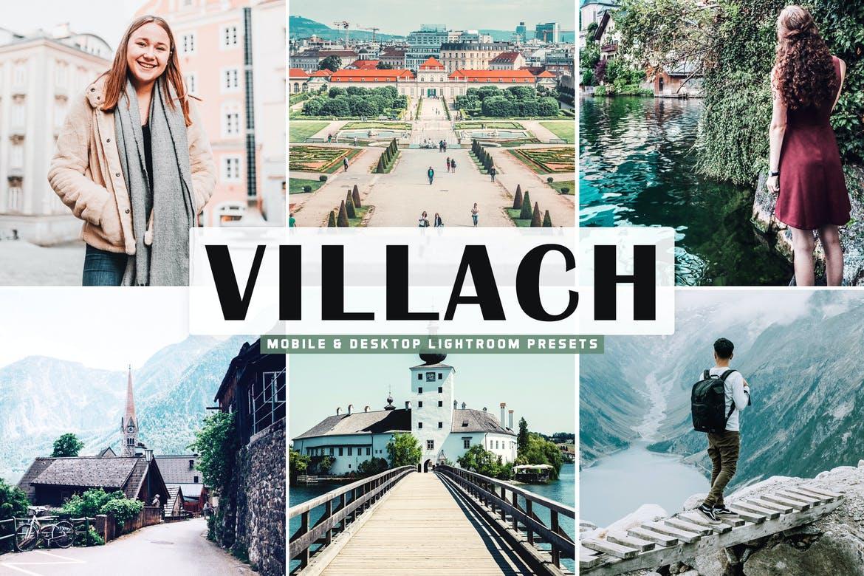 Villach Mobile & Desktop Lightroom Presets