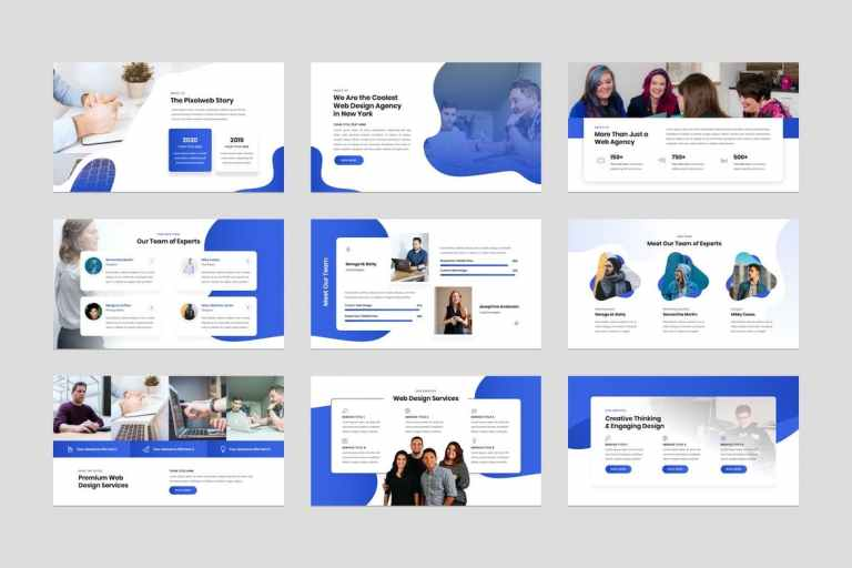 Web Design Agency PowerPoint Presentation Template