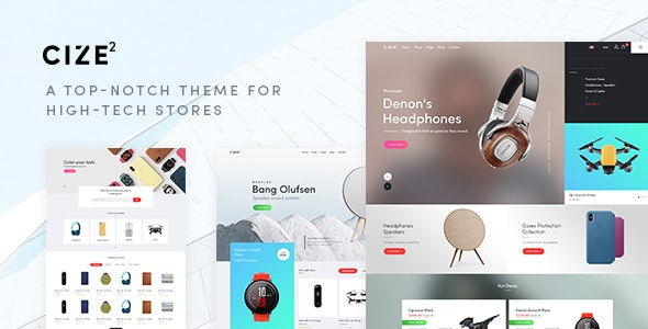 Cize - Electronics Store WooCommerce Theme (RTL Supported)