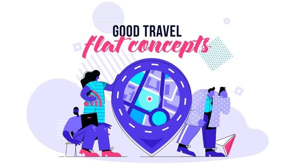 Good Travel - Flat Concept