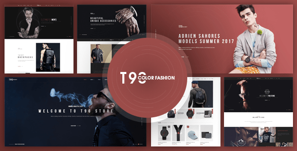 T90 - Responsive Fashion OpenCart Template