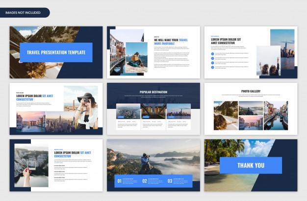 Travel and tour presentation slider template
