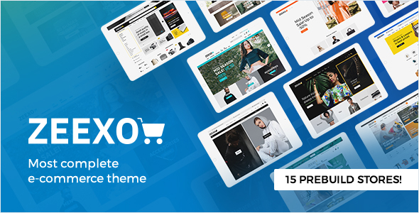 Zeexo - Premium template for OpenCart