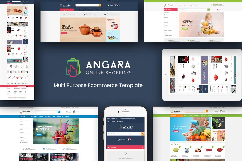 Angara - Responsive Magento Theme