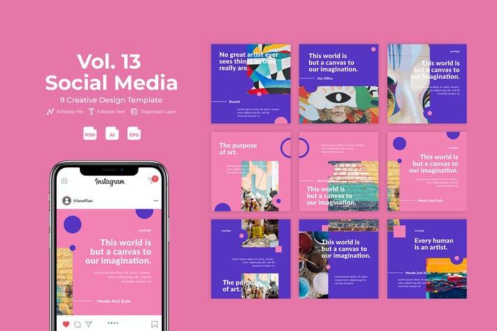 Artsky - Social Media Kit Vol. 13
