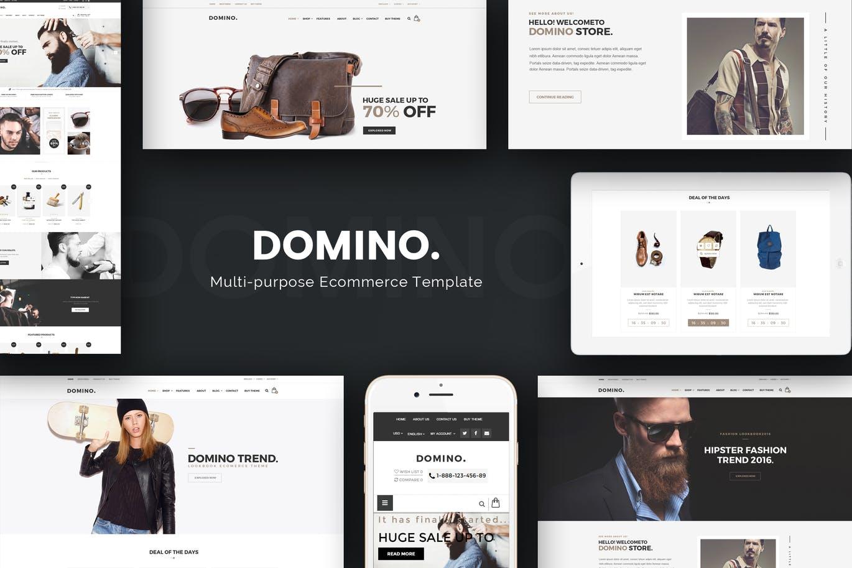 Domino - Fashion Responsive Magento 2 Theme