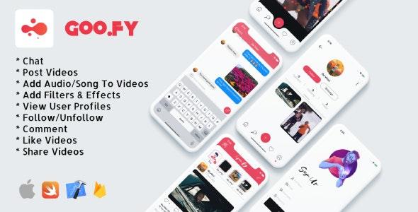 iOS video sharing app