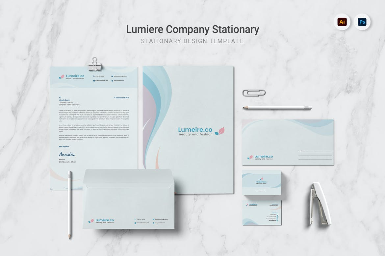 Lumiere Company Stationary