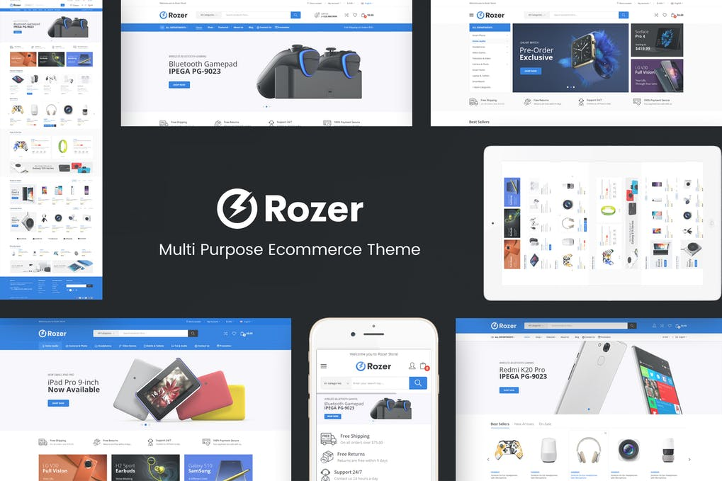 Rozer - Digital Responsive Prestashop Theme
