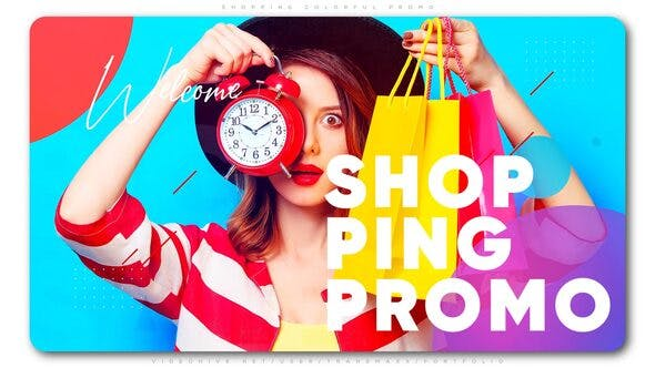 Shopping Colorful Promo