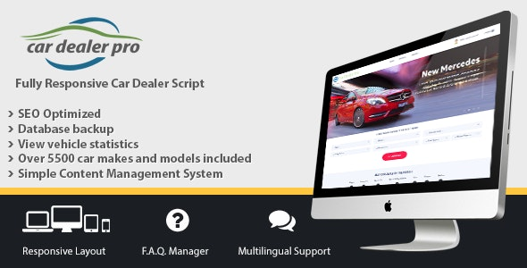Car Dealer Pro v2.003 - car dealership management script