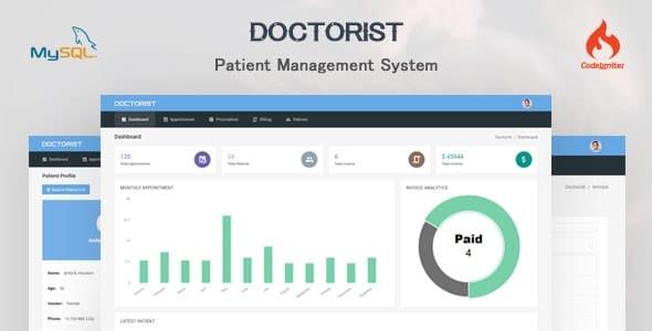 Doctorist v1.0.0 - patient management system
