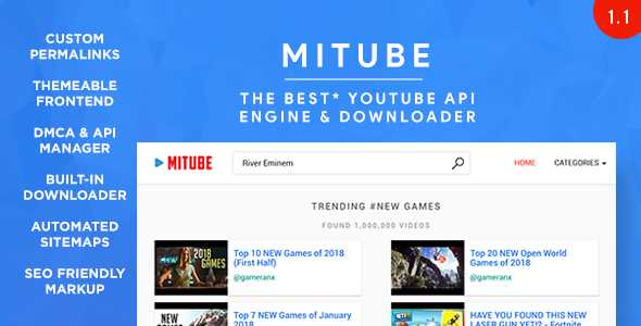 MiTube - The YouTube Autopilot Engine You Deserve! - Search
