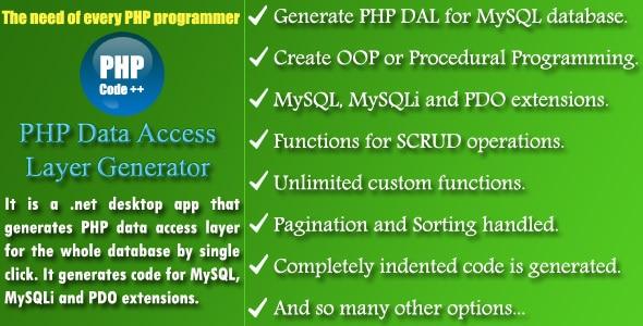 PHP DAL Generator