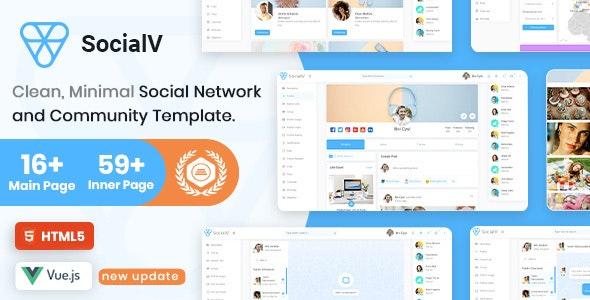 SocialV - Vue Js, HTML Social Network & Community Admin Template
