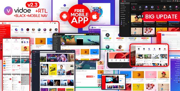 VIDOE - Video Streaming Website HTML Template