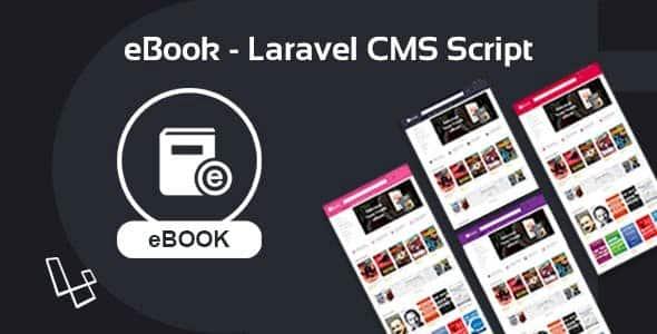 eBook v2.0.1 - book portal script on Laravel