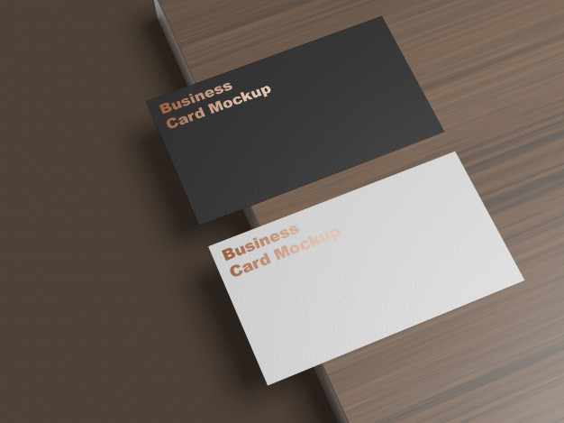 Business card mockup Premium Psd