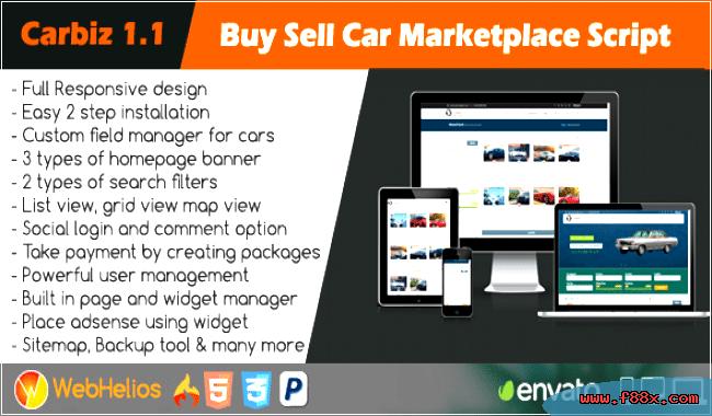 Carbiz - Buy Sell Car Marketplace Script