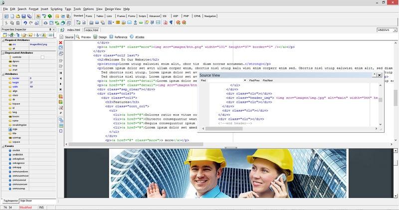 Creato - visual HTML builder