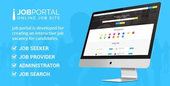 Job Portal v3.5 - job search message board