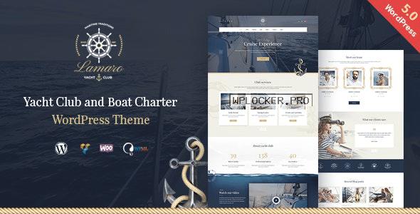 Lamaro v1.2.3 - Yacht Club & Boat Rentals WordPress Theme