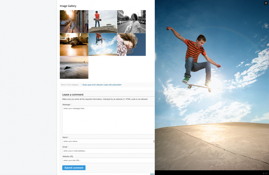 Simple Image Gallery PRO v3.7.0 - gallery for Joomla