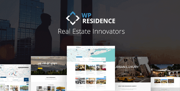 WP Residence v3.5 NULLED - Real Estate WordPress Template