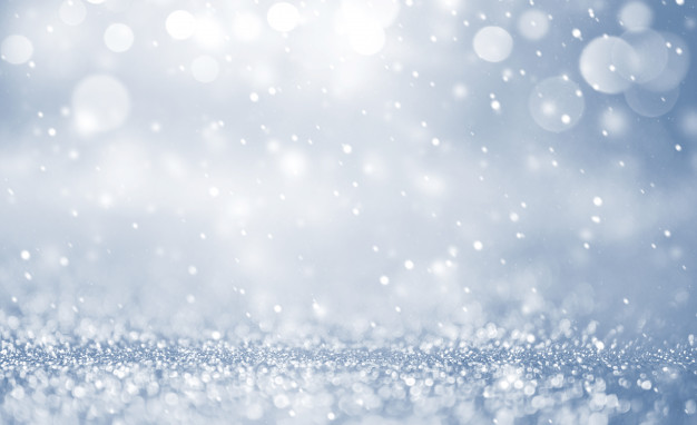Christmas background with falling snow, snowflake. holiday winter for merry christmas and happy new year. Premium Photo