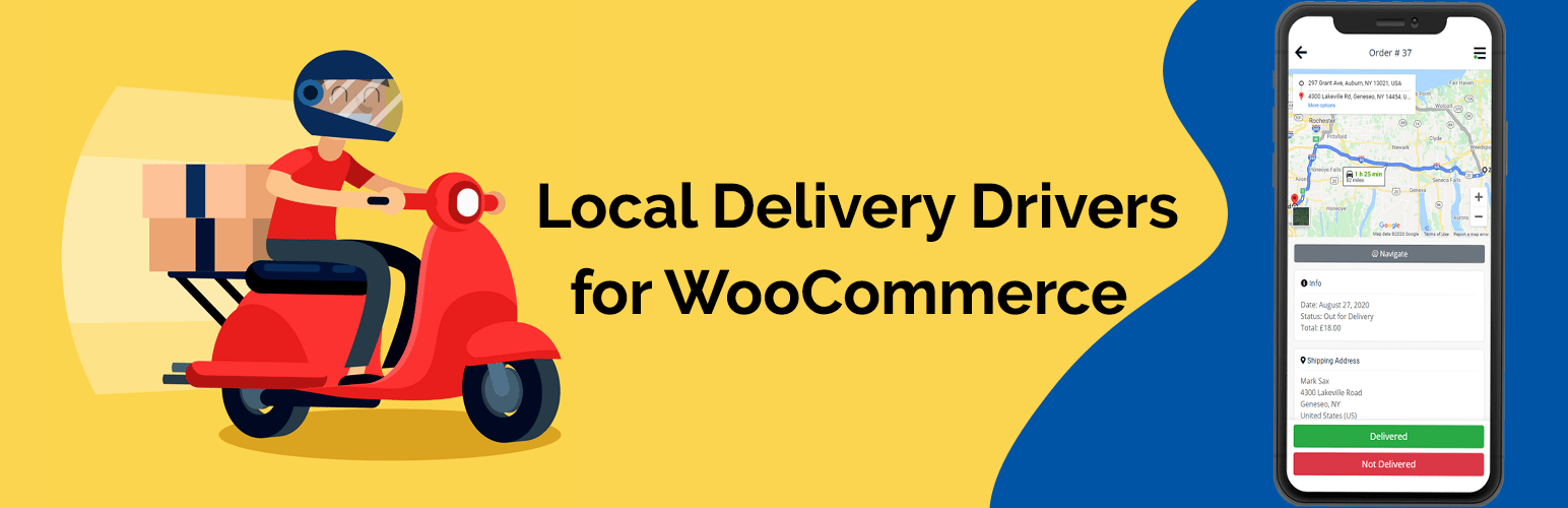 Local Delivery Drivers for WooCommerce Premium v1.2.2 NULLED