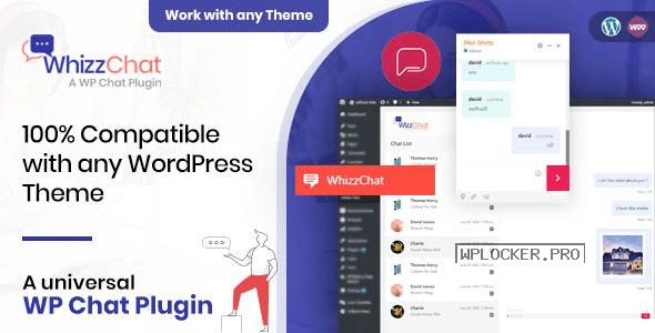 WhizzChat v1.0.5 - Universal WordPress Chat Plugin