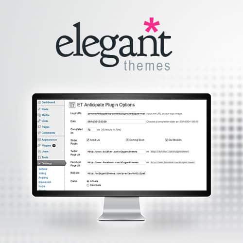 Elegant Themes Anticipate WordPress