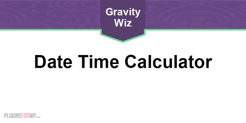 GP Date Time Calculator