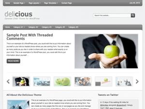 StudioPress Delicious