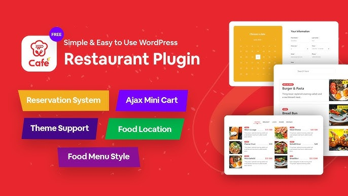 WP Cafe v1.3.5 menu and food ordering for WooCommerce