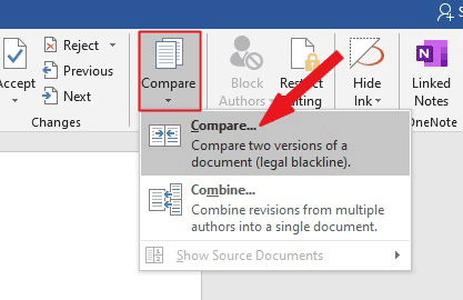 How to compare two documents in Word - Software Accountant