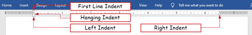 make indentation in Word