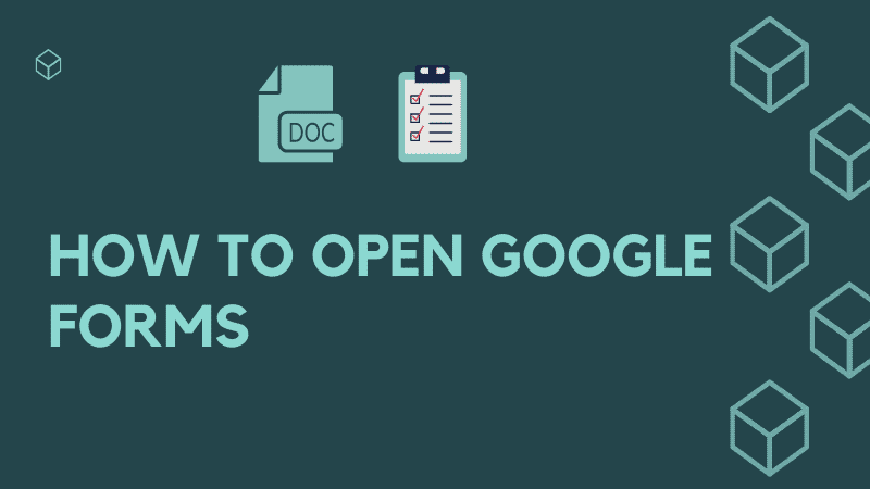 Where is Google Forms
