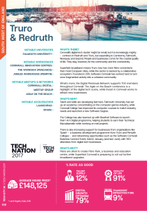 Tech Nation Report 2017 Truro and Redruth