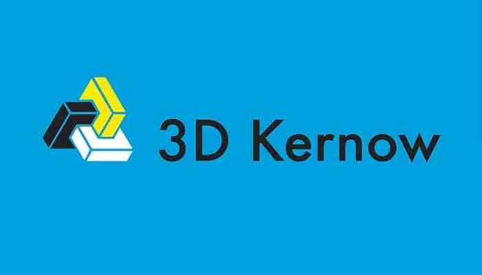 3D Kernow Logo