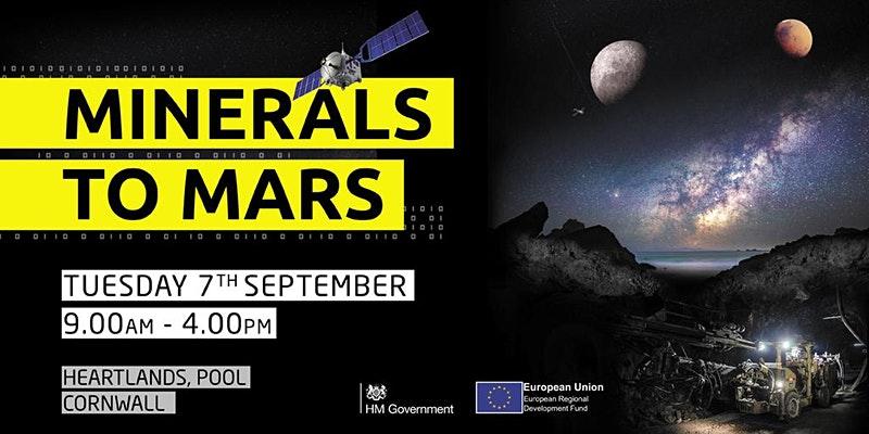 Minerals to Mars - Deep Digital Cornwall Event